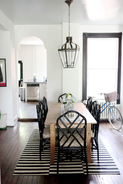 Chinese Chippendale Chair Dining Room Traditional with Bamboo Dinin Gchairs Bicycle Bicycle Basket Bike Black And