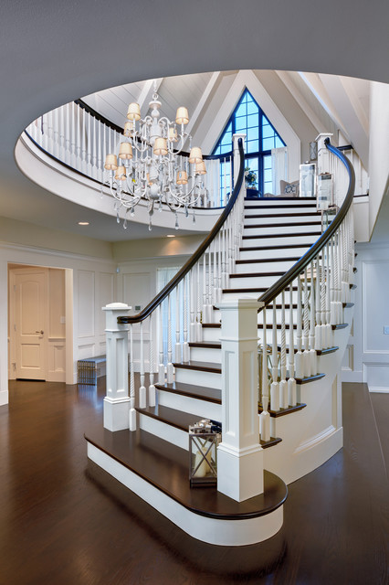Circular Staircase Staircase Traditional with Bar Beautiful Pools Chandelier Large Master Bedroom Open Concept