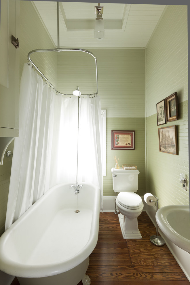 clawfoot tub shower Bathroom Victorian with antique baseboards Cabinetry carpet ceiling ceiling lighting