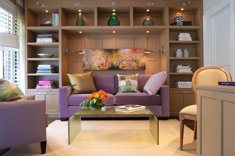 office sleeper sofa. Comfortable-sleeper-sofa-Home-Office -Contemporary-with-area-rug-artwork-blinds-books-built-in-cabinets Office Sleeper Sofa H