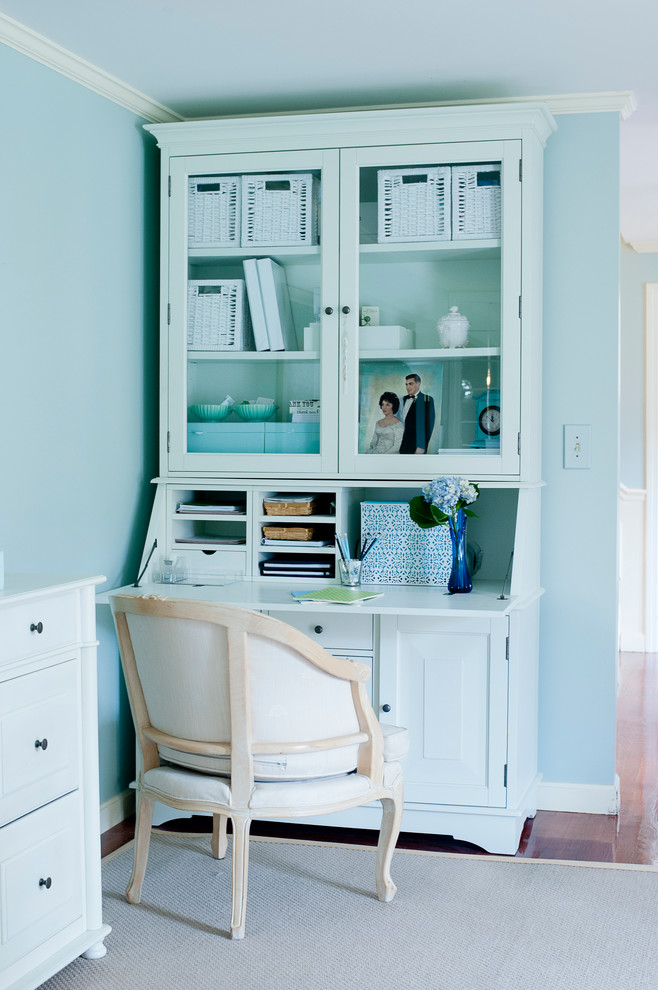 computer armoire Home Office Eclectic with abattant chair clean drop-front desk elegant living