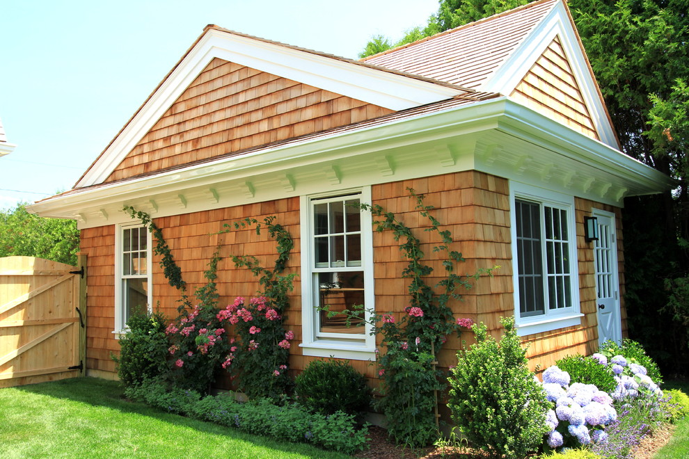 Corbels Garage and Shed Traditional with Cedar Corbel Cottage French Window French Windows
