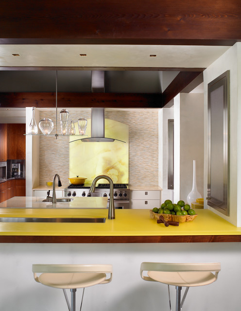 Corian Countertops Cost Kitchen Contemporary with Acrylic Bar Bar Stools Breakfast Bar Chandelier Counter Eat