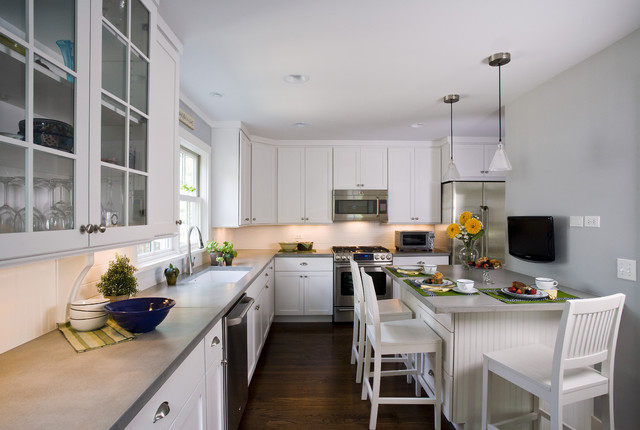 Corian Countertops Cost Kitchen Traditional with Beadboard Bin Pulls Breakfast Bar Concrete Counters Country Kitchen