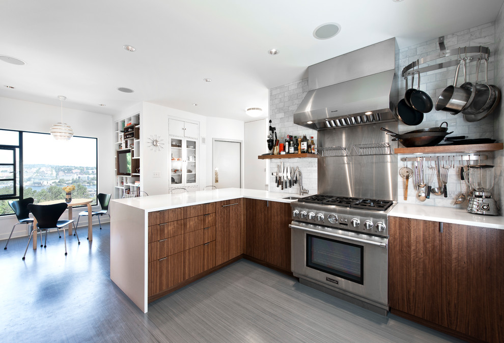 Cork Flooring Pros and Cons Kitchen Contemporary with Built in Shelves Floating Shelves Floor Treatment1
