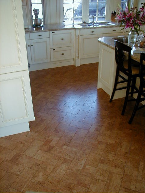 Cork Flooring Pros and Cons Kitchen Traditional with Categorykitchenstyletraditionallocation 1