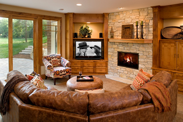 Decorating Family Room Tuscan