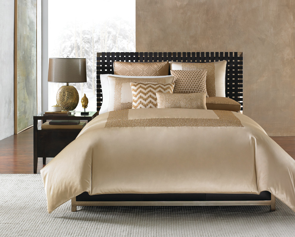 Cowhide Pillows Bedroom Contemporary with Hotel Collection Linen Luxury Macys Navy Neutral