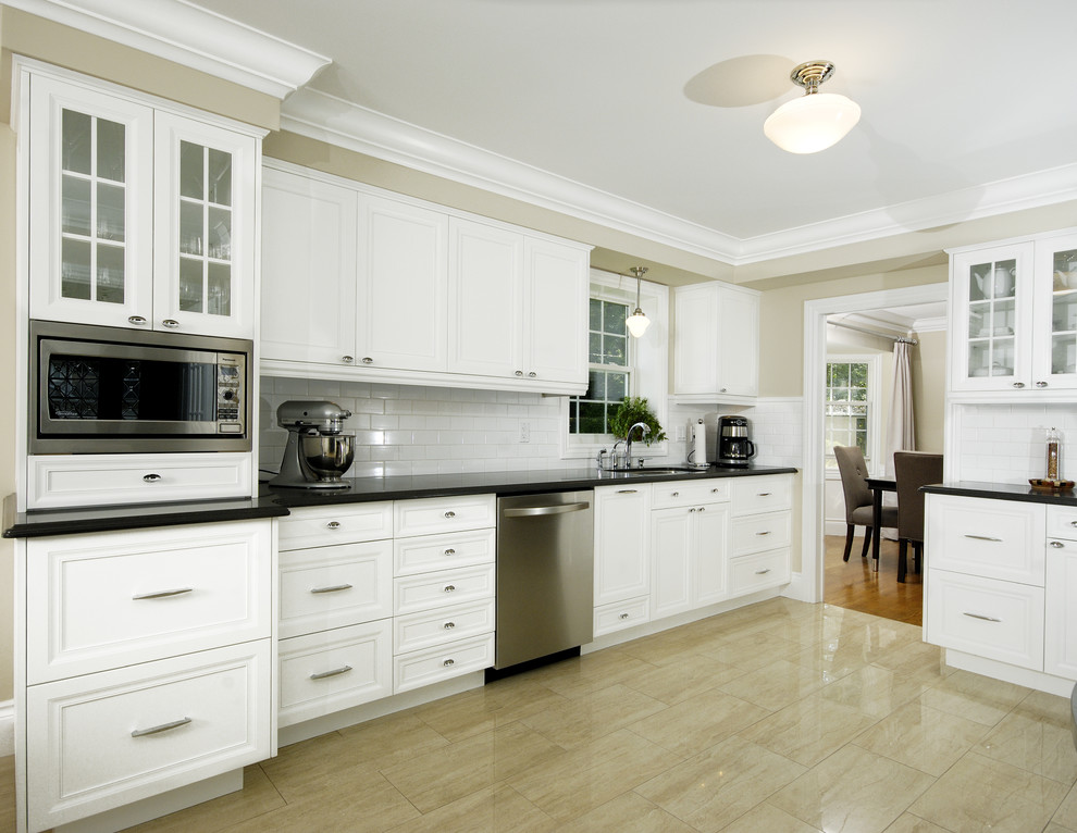 Crown Molding Styles Kitchen Transitional with Bulkhead Crown Crown Molding Custom Kitchen Dark