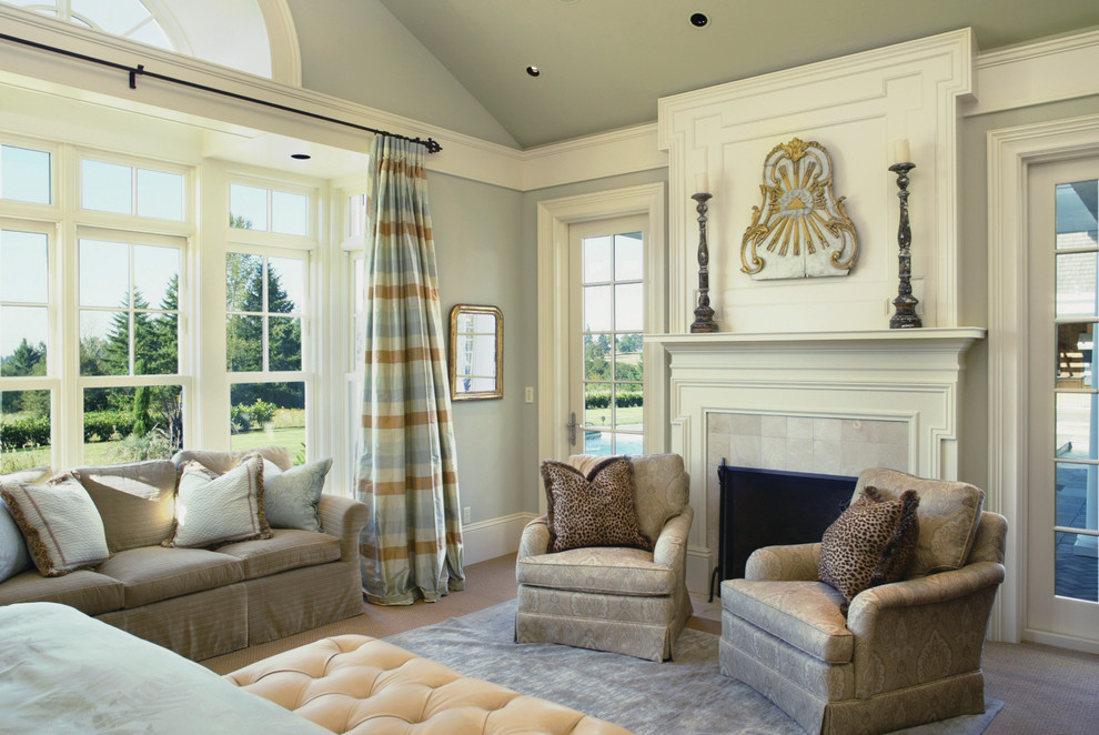 Crown Moulding Ideas Bedroom Traditional with Animal