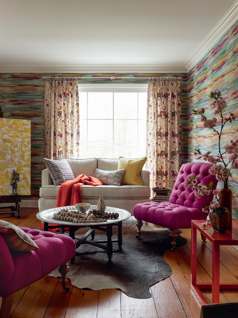 Crypton Sofa Living Room Transitional with Animal Hide Rug Elephant Motif Elephant Patterned Curtains Hot