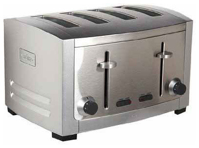 Cuisinart 4 Slice Toaster with 2 Lever Toaster 4 Slice Toaster Dual Switch Toaster