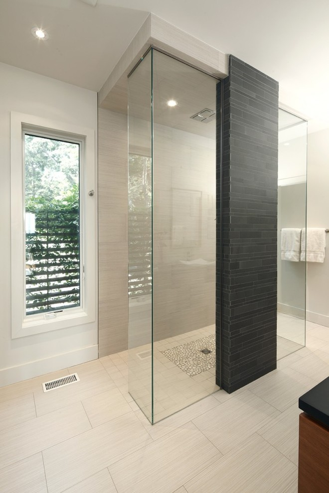 Cultured Marble Shower Bathroom Contemporary with Bathroom Shower Rain Shower Head Shower