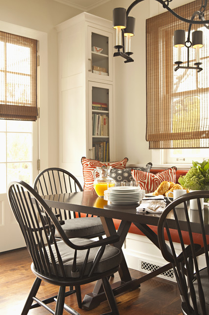 custom-bench-cushions-Kitchen-Traditional-with-2-over-2-windows ...
