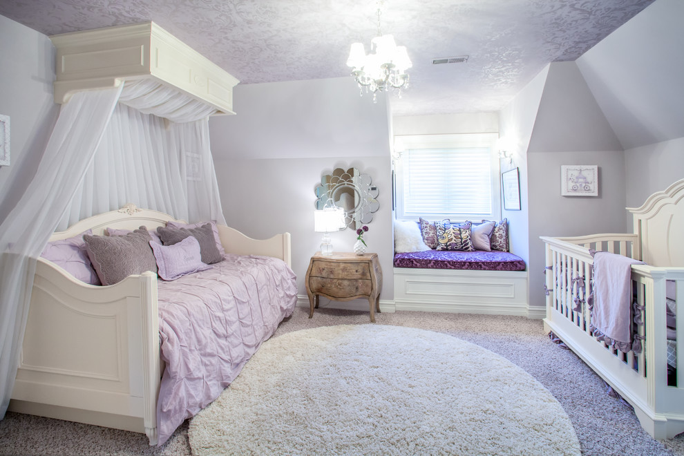 Daybeds for Girls Kids Traditional with Bed Canopy Feminine Girls Bedroom Girls Nursery1