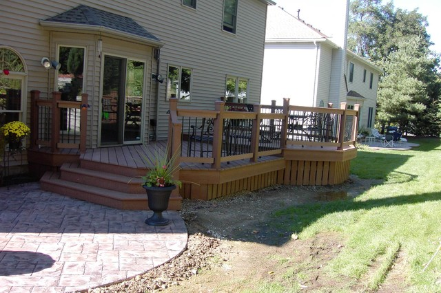 Deckorators Deck Traditional with Backyard Remodeling Composite Deck Deck and Patio Experts Deck