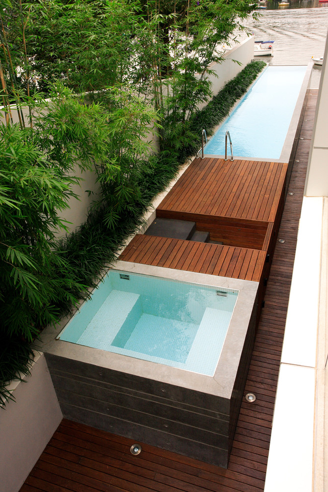 Decks For Above Ground Pools Pool Modern With Above Ground Pool  Border Planting Coastal Concrete