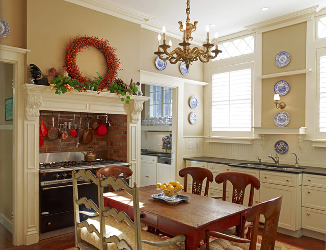 Decorative Shelf Brackets Kitchen Rustic with Beadboard Cabinets Casual Elegance Ceiling Chandelier Charming Comfy Contemporary