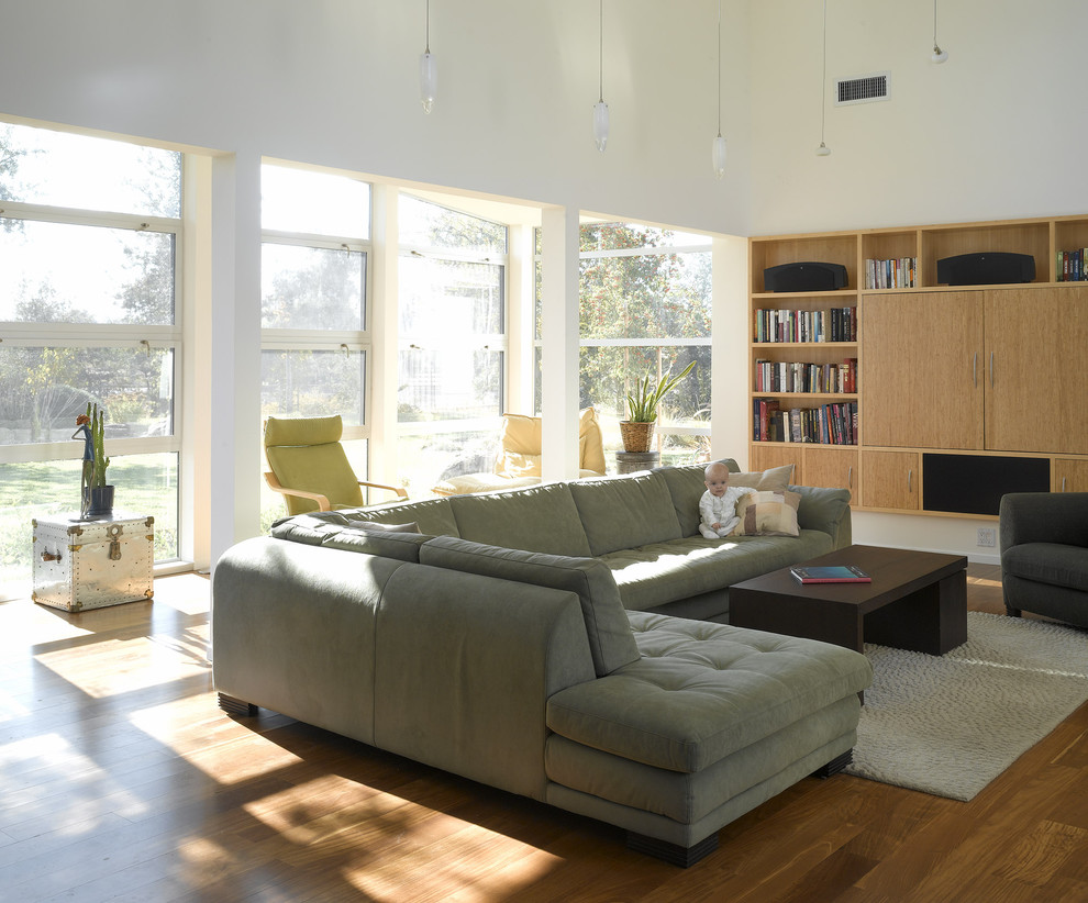 Deep Sectional Sofa Living Room Contemporary with Aluminum Area Rug Built in Coffee Table