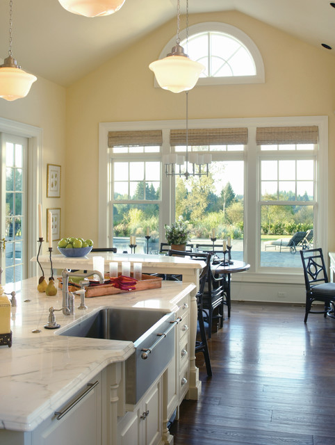 Delta Towel Bars Kitchen Traditional with Ceiling Light Chair Chandelier Dining Table Farmhouse Sink Kitchen