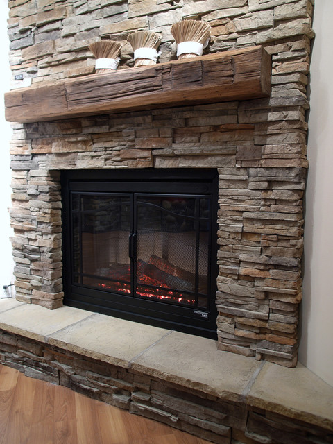 Dimplex Electric Fireplace Living Room Traditional with Electric Fireplaces Faux Stone Fireplace Fireplace Stone Design Fireplace