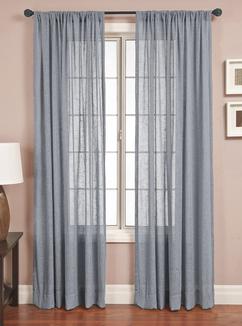 discount drapesSold ByBlindsgaloreVisit Store Curtains Contemporarywith Sold ByBlindsgaloreVisit StoreCategoryCurtainsStyleContemporary -Signature-Drapery-Panel-Slub-Sheer-contemporary-curtains