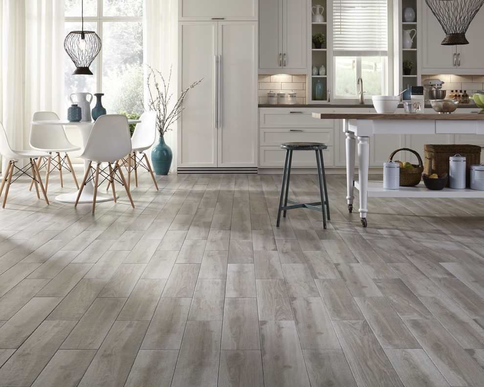 Distressed Wood Flooring Kitchen Contemporary with Categorykitchenstylecontemporarylocationunited States