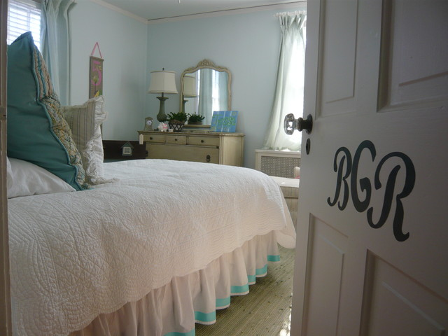domestications bedding Kids Traditional with Bedroom bedskirt dust ruffle glass door knobs monogram neutral