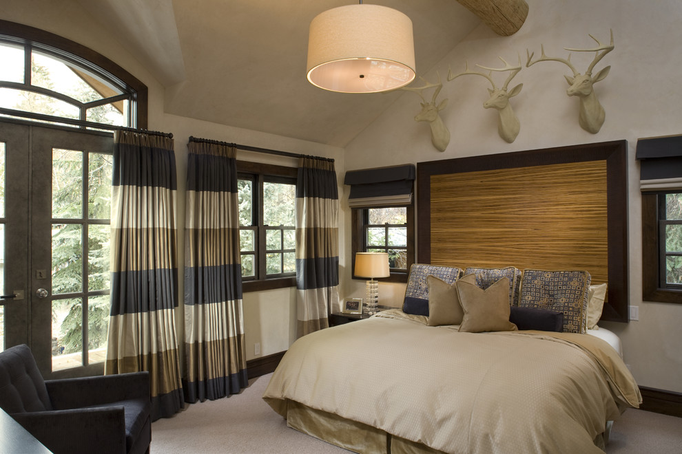 Doorway Curtains Bedroom Contemporary with Arched Door Arched Doorway Bed Blinds Carpet