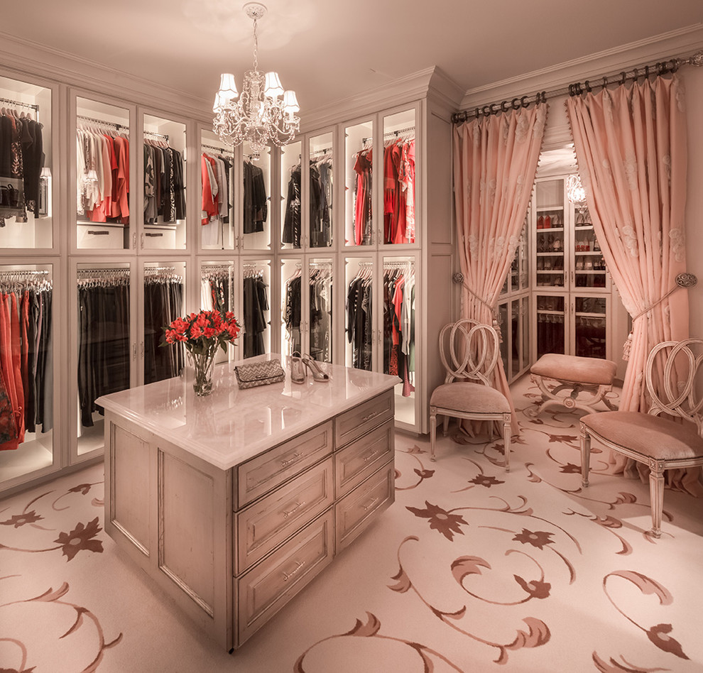 Doorway Curtains Closet Traditional with Chandelier Closet Island Curtain Tie Backs Glass