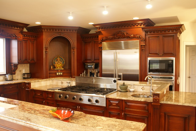 Downdraft Vent Kitchen Traditional with Ceiling Lighting Kitchen Island Recessed Lighting Stainless Steel Appliances