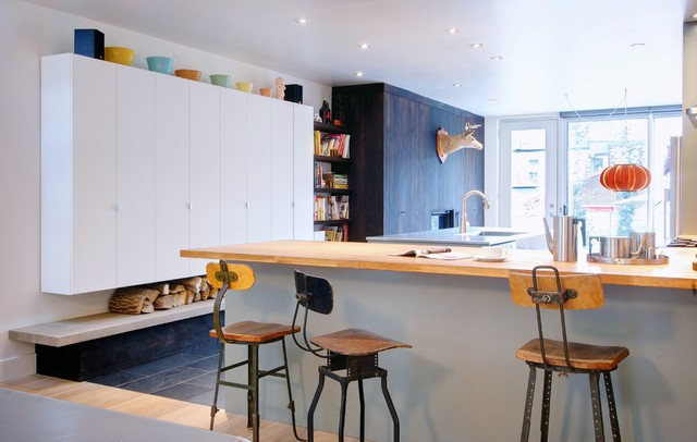 Drafting Stools Kitchen Contemporary with Bookshelves Butcher Block Drafting Stools Edge Pulls Firewood Storage