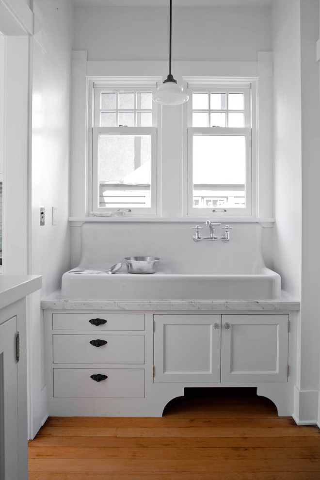 Drainboard Sink Kitchen Traditional with Cabinet Farm Sink Large Sink Marble Modern