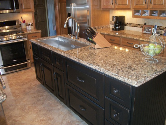 Duraceramic Kitchen Contemporary with Cambria Countertop Custom Wood Products Duraceramic Galley Sink Kitchen2
