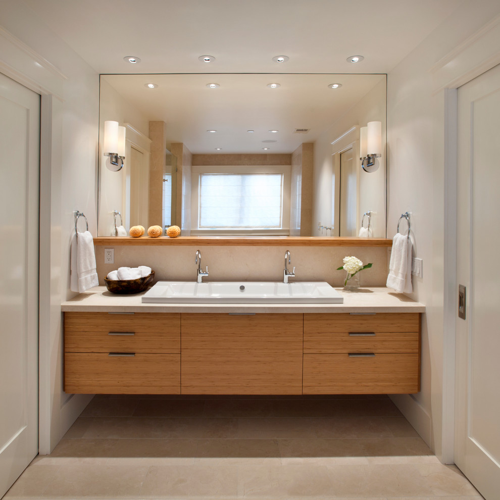 Duravit Sink Bathroom Contemporary With Bathroom Hardware Ceiling Lighting Double  Sinks Double