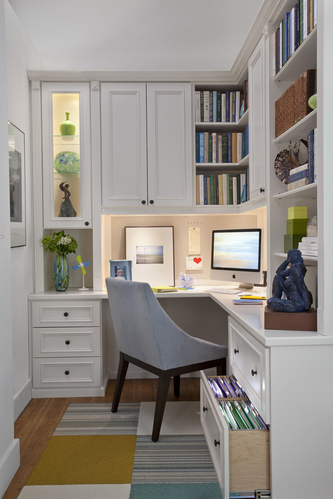 E12 Light Bulb Home Office Traditional with Apartment Area Rug Baseboards Basement Book Shelf