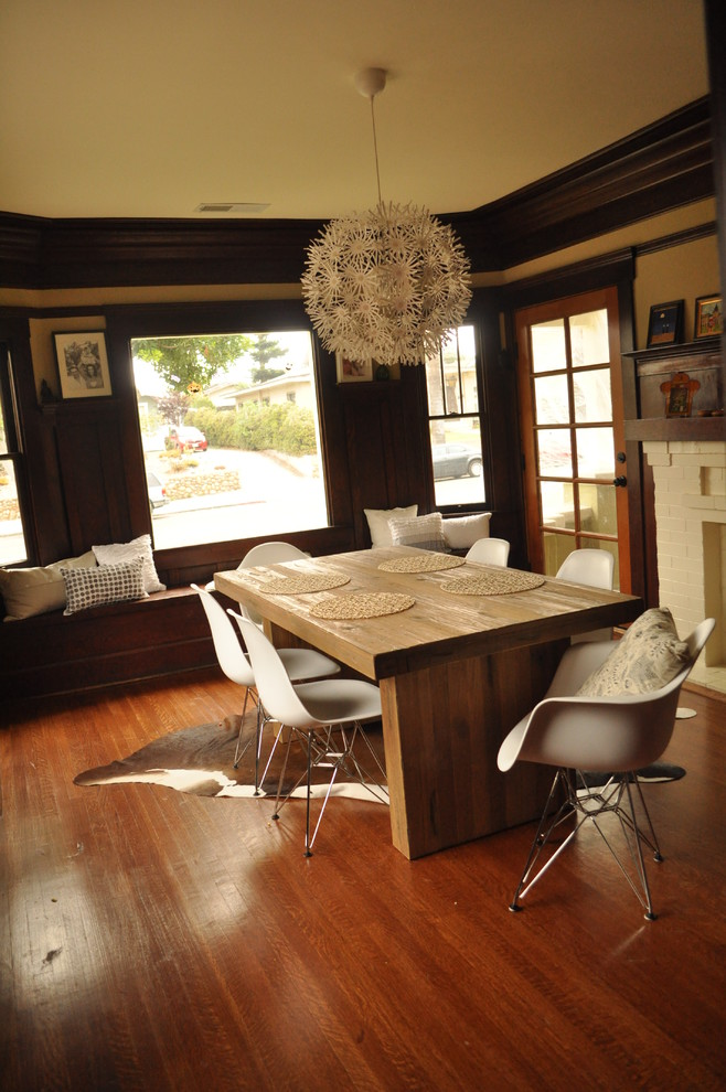 eames-chair-replica-dining-room-midcentury-with-chunky-wooden