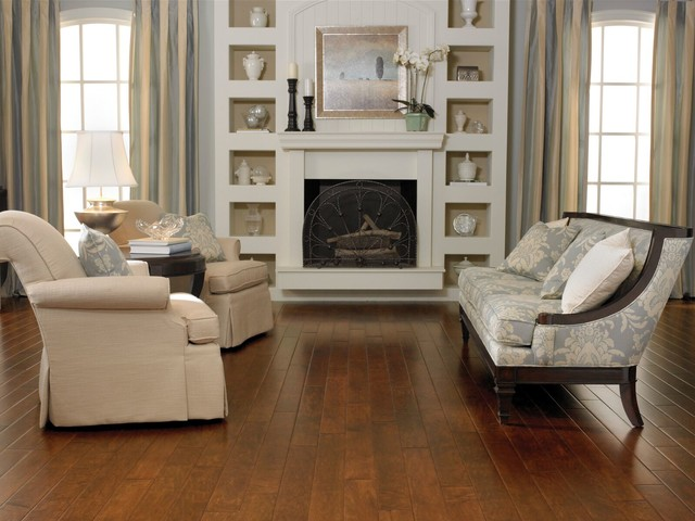 Electric Fireplace Insert Living Room Traditional with Flooring Hardwood Living Room