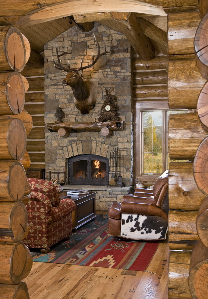 Electric Fireplace Logs Living Room Rustic with Cow Hide Deer Fireplace Jackson Hole Log