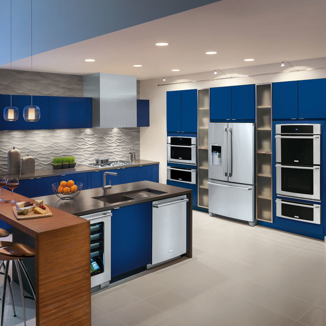 Electrolux Central Vacuum Kitchen Modern with Categorykitchenstylemodernlocationunited States