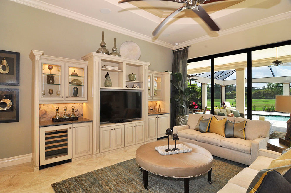 centers ikea living room traditional with beige backsplash beige cabinets beige leather ottoman