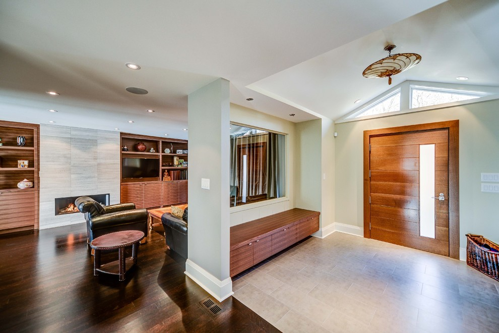 Entry Bench with Shoe Storage Entry Contemporary with Additions Architect Basement Bravehart Building Build Built In