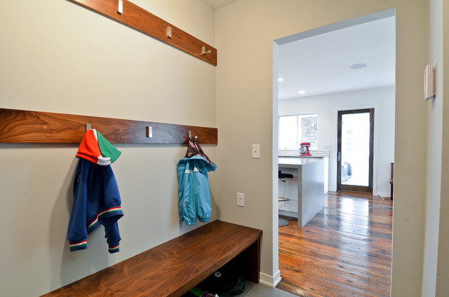 entryway bench and coat rack Entry Contemporary with clothes storage coat hooks entry bench mudroom wood bench