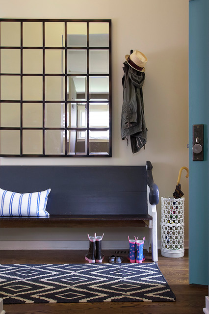 Entryway Bench Ikea Entry Modern with Baseboard Bench Seat Blue Door Coat Hook Multi Paned