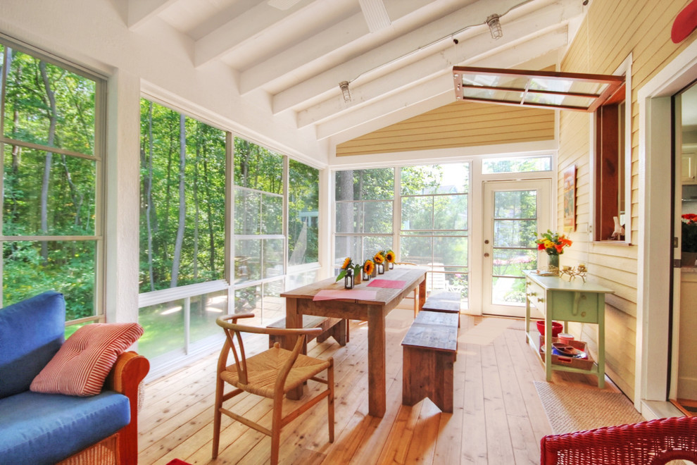 Eze Breeze Windows Porch Traditional With