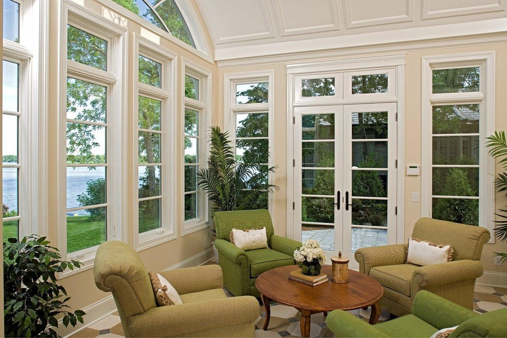 Eze Breeze Windows Porch Traditional with Categoryporchstyletraditionallocationminneapolis