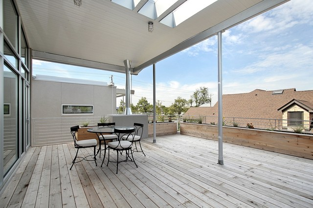 Facelifts Deck Contemporary with Covered Deck Industrial Light Fixture Outdoor Dining Furniture Outdoor