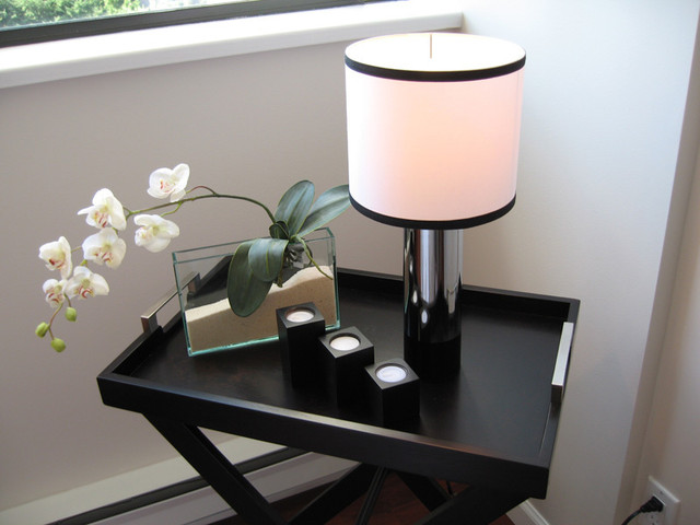 Fake Orchids Living Room Contemporary with Categoryliving Roomstylecontemporarylocationvancouver
