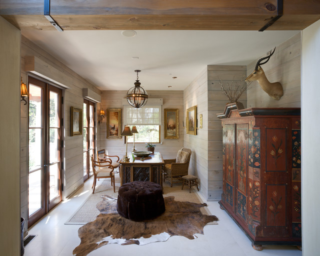 Faux Sheepskin Rug Home Office Traditional with Animal Hide Rugs Area Rug Arm Chairs Armoire Desk