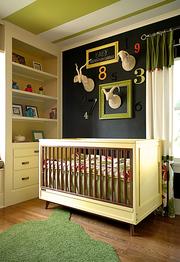 Faux Taxidermy Nursery Contemporary with Advent Adventure Animal Are Art Baseboards Bedroom